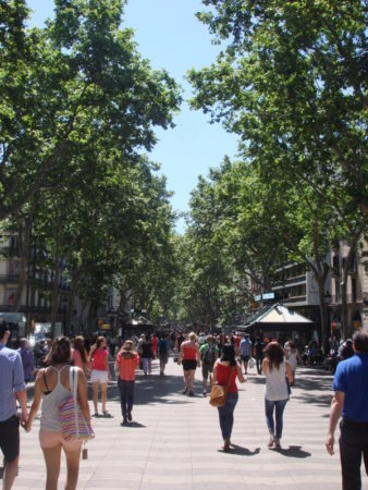 Another day on La Ramblareduced