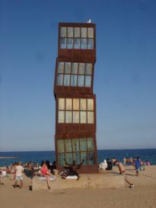 Beach Art, Barcelonareduced
