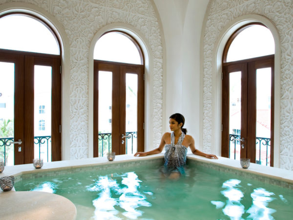 Luxury Spa at The Oyster Box Hotel in Durban.