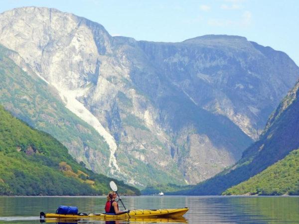 Kayak and Wildcamp Norwegian Fjords