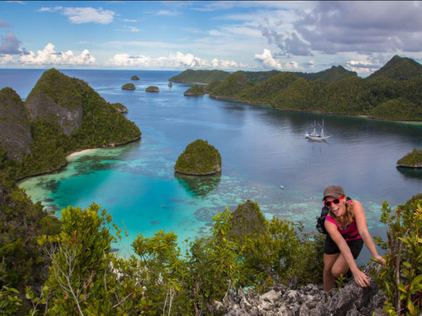 Cruise through the 'Last Paradise on Earth' in Indonesia