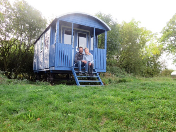 Our Romantic Weekend Away in a Gypsy Wagon