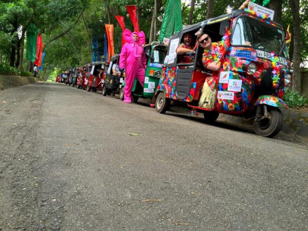 Go on a Rickshaw Challenge in Sri Lanka
