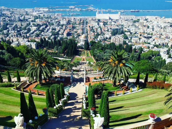 Bahai Gardens, Haifa Israel.