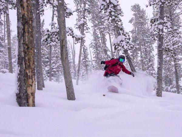Snowboarding trip around the USA
