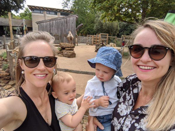 London Zoo with Babies